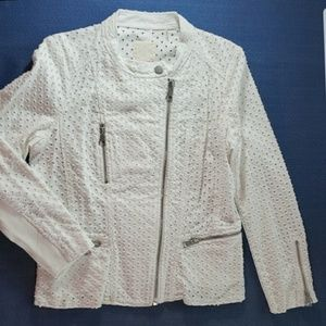 NBW Rebecca Taylor Moto jacket, Size 10